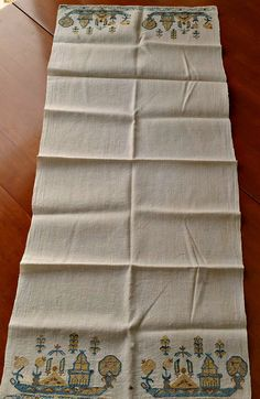 Antique 19th C Ottoman Turkish Towel Silk by AnotherTimeAntiques