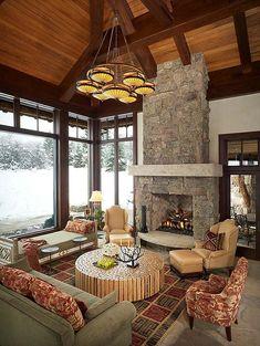 Absolutely fabulous rustic modern log estate in Colorado