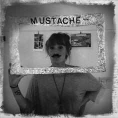 mustache party: begin.