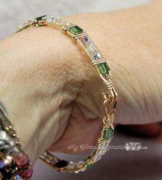 Back to the Beginning, Wire Wrap Beginner Bangle Bracelet Tutorial