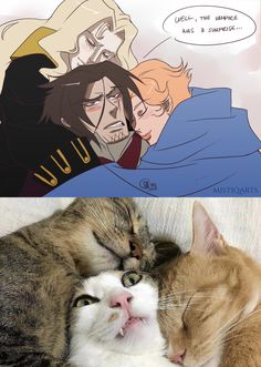 """Poor Trevor, always in the middle of things XD Castlevania Dracula, Alucard Castlevania, Castlevania Netflix, Hellsing Alucard, Miss Fortune, Hobbit, Character Art, Character Design, Video Game Art"