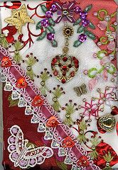 Crazy quilting!Love it