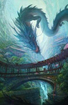 Far eastern dragon