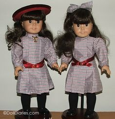 Identifying a Mattel vs Pre-Mattel American Girl Samantha and Josefina dolls. Boy Doll, Girl Doll Clothes, Girl Dolls, American Girl Outfits, American Girl Doll Samantha, My American Girl, Pixie, Girls World, Ag Dolls