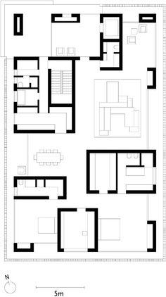 Esherick house philadelphia 1959 1961 louis kahn - Maison architecture contemporaine grupo arquitectura ...