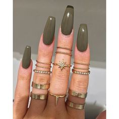 My new nails set goal.... To keep my stillettos or nahh???