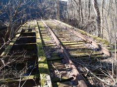 Abandoned Rail Road Bridge Terre Haute IN