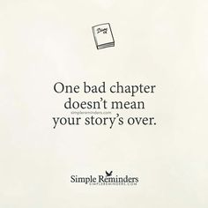 One bad chapter dosnt ruin the story... keep flipping the pages be brave!!