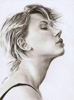 Pencil Portraits by AmBr0