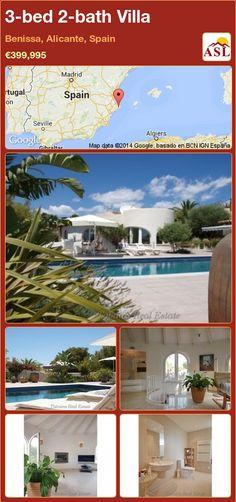 3-bed 2-bath Villa in Benissa, Alicante, Spain ►€399,995 #PropertyForSaleInSpain
