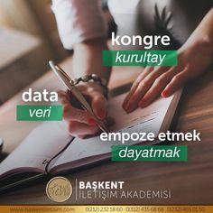#TürkçesiVar kongre ❌- kurultay ✅ data ❌- veri ✅ empoze etmek❌- dayatmak ✅