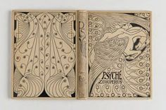 """≈ Beautiful Antique Books ≈   Jan Toorop, cover design. """"Psyche"""" by Louis Couperus. 1898"""