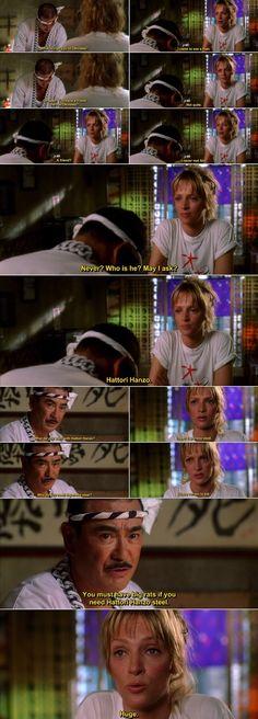 Quotes from Kill Bill (2003) Movie