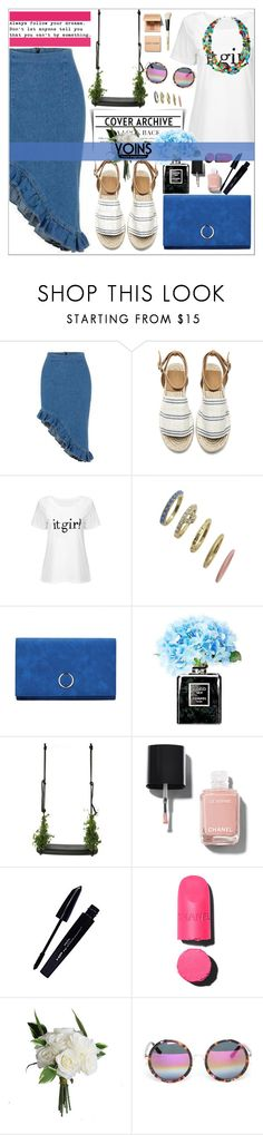 """""""Yoins ♥"""" by av-anul ❤ liked on Polyvore featuring Beyond Rings, Chanel, Droog, L'Oréal Paris, Linda Farrow and Bobbi Brown Cosmetics"""