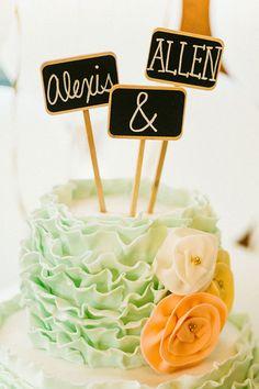 Adorable cake topper!