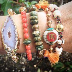 Set By Vila Veloni New Summer Bracelets
