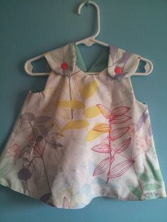 Reversible Girls Pinafore Spring Dress sizes 3mths and up $25 and up