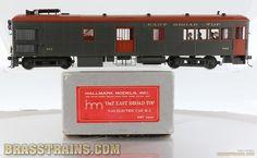 On30+Brass+Model+-+Hallmark+EBT+East+Broad+Top+Gas-Electric+Car+M-1+-+Custom+