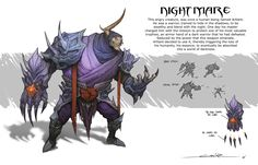 ArtStation - Character Designs, Jose Garcia