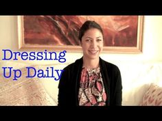 The Daily Connoisseur: Dressing Up Daily: Dealing with Attention