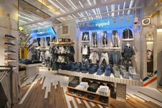 Pull & Bear store, Barcelona Spain fashion