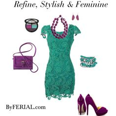 """Refine, Stylish & Feminine."" by byferial on Polyvore"