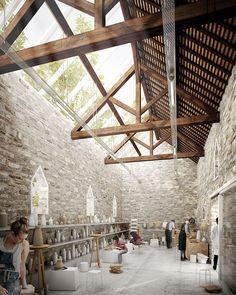 LES MUREAUX - Centre d'art Les Ateliers du Moulin - THINK TANK