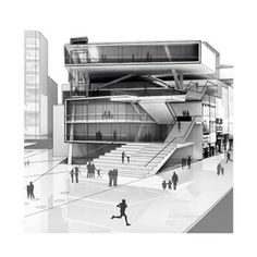 Perspective for Core Studio II Mid-Review by Eugene Chang. Spring 2014.