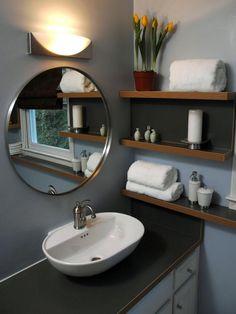 Transforming a Bathroom on a Tight Budget | DIY Bathroom Ideas - Vanities, Cabinets, Mirrors & More | DIY