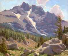 Jean LeGassick, California Plein Air painter, Impressionist California Landscapes, High Sierras, Yosemite, Santa Barbara Art Dealers Association, Santa Barbara Art Galleries