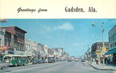 Gadsden 1950s