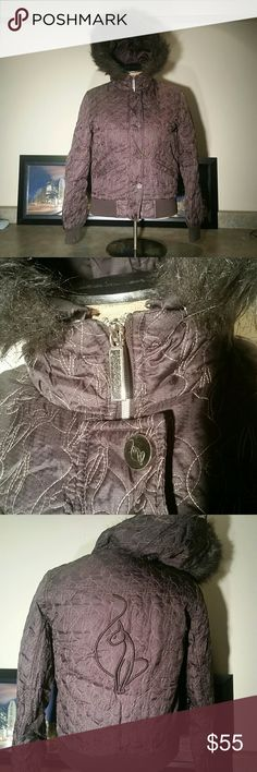 BABY PHAT Bomber Like Jacket Hooded Size S excellent condition Jackets & Coats Puffers