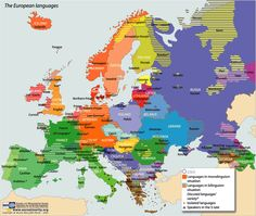 Eurominority - Map of the European languages