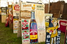 Antique Signs from Roundtop