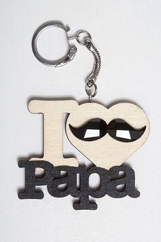 Porte-clés - I love Papa