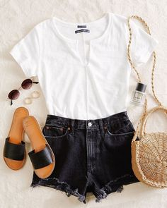autumn date outfit Cute Casual Outfits, Cute Summer Outfits, Pretty Outfits, Spring Outfits, Look Fashion, Fashion Outfits, Womens Fashion, Birthday Outfit, Look At You