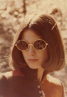 1970's | vintage 1970s sunglasses | 70s hair + beauty