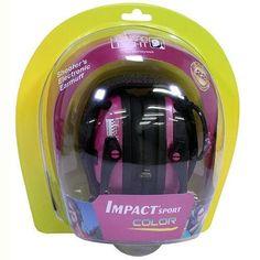 Impact Sport Electronic Earmuff - Pink
