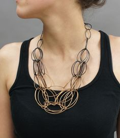 megan auman — Maya necklace reversed - SHIFT COLLECTION