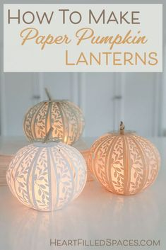 Thanksgiving Crafts, Fall Crafts, Holiday Crafts, Crafts For Kids, Pumpkin Crafts, Paper Pumpkin, Origami Pumpkin, Fall Halloween, Halloween Crafts