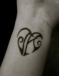 tattoo letters intertwined - Google Search