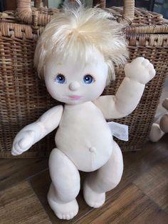 Mattel 1980s My Child Doll Blonde Hair Blue Eyes Boy #Mattel #Dolls