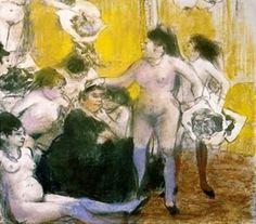 Edgar Degas (1834-1917). Monotype