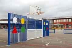 Basketball Goal, Basketball & Netball Posts, AMV Playgrounds.