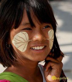 ragazza birmana...