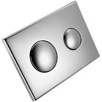 IN STOCK: best prices on Wall flush button for concealed cystern - top promotions from the biggest choice online! Chrome Plating, Plates On Wall, Toilet, Buttons, Litter Box, Toilets, Knots, Powder Rooms