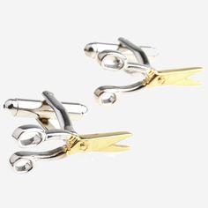 Подчеркни свою индивидуальность парой ножниц на рубашке. #запонки #ножницы #наподарок #gift #forman #scissors http://tie.com.ua/zaponki/zaponki-v-vide-nozhnic