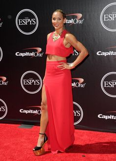 Pin for Later: Celebrities Share the Spotlight With Sports Stars at the ESPYs Lolo Jones