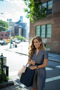 NYC in my CH Carolina Herrera dress, CH Carolina Herrera bag, scarf, and Jane Pope ring