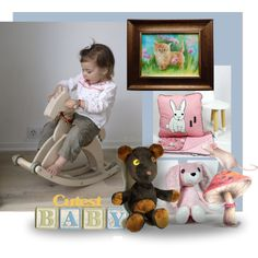 Nursery. Home decorations and giftts for baby. #toys #bedding #art #baby #nursery